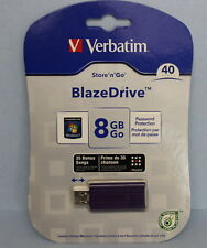 Verbatim Store 'n' Go 8 GB USB 2.0 Flash Drive New Sealed Purple  97213