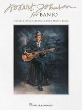 Robert Johnson for Banjo Sheet Music 15 Blues Classics NEW 000113190