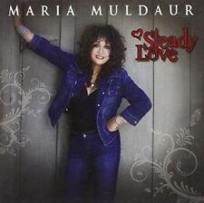 MARIA MULDAUR - STEADY LOVE   CD NEU