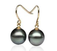 Pearl Drop/Dangle Natural Yellow Gold Fine Earrings