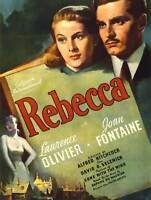 ADVERTISING MOVIE FILM REBECCA OLIVIER FONTAINE ART PRINT POSTER BB7573