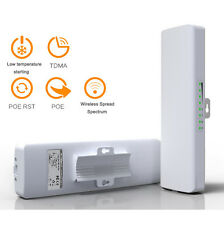 Outdoor CPE Wireless Access Point WiFi Bridge High Power AP Router Network POE