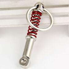 Creative Metal Car Keyring Keychain Key Chain Ring Keyfob Newest Fashion Red L7