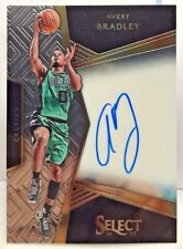 Avery Bradley 2016-17 Panini Select Signatures on-card Autograph Auto #'d/149