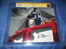 TRANSFORMERS CGC SS Signed Movie/TV Photo/Still by PETER CULLEN / OPTIMUS PRIME