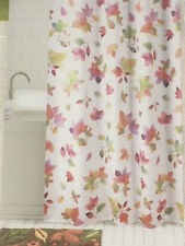Celebrate Fall Together Fabric Shower Curtain - Falling Leaves