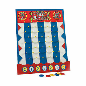 Carnival Disc Drop Game - Toys - 8 Pieces