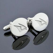 Vintage Estate Tiffany & Co. Men's Jewelry Sterling Silver Oval Cufflinks