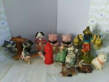 vintage salt and pepper shakers lot with other old items 1 is vintage girl .