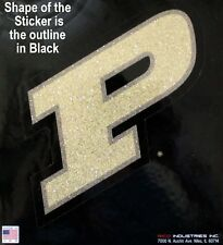 Purdue University Boilermakers Die Cut Window Decal College Sticker Made in USA