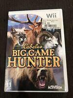 Cabela's Big Game Hunter (Nintendo Wii, 2007)