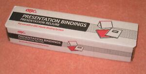 GBC Comb Bindings, 1/4 inch Hunter Green, qty 100