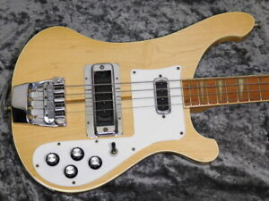Rickenbacker 4001 Mapleglo 1977 Electric Bass w/Hard Case