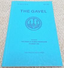 1990 The Gavel Magazine Vol 56 No183 - Order of Women Freemasons - Masonic