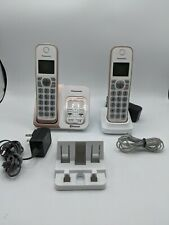 PANASONIC Expandable Cordless Phone System with Link2Cell Bluetooth, Voice Assis