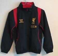 Liverpool training track top jacket size MB/134 black colour Warrior