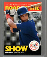 DEREK JETER UPPER DECK ROAD TO THE SHOW FUTURE STOCK #165 CARD  NY YANKEES