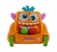 Mattel Fisher-Price Kullerball-Monster 2 Spielmöglichkeiten Kinder Spielzeug