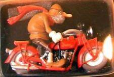 FIGURINE JOE BAR TEAM ALPHONSE VELU BIKE INDIAN 600 BD 1/18 FIGURINE RESINE MOTO