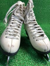 Jackson Laser White Kids Ice Figure Skates Club Sheffield size