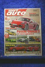 Sport Auto 3/13 Dodge Challanger SRT 392 Chevrolet Camaro ZL1 C63 AMG BMW 650i