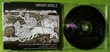 VIRGIN STEELE - PROMO CD TAKEN FROM THE HOUSE OF ATREUS ACT I 1999 RING OF FIRE