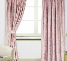 Scarpa Rosa Cipria Velluto 165cm x 183cm Anello Superiore Tende