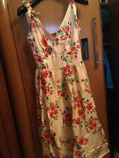 Stop Staring Floral Retro 50s Dress Bnwt Size S