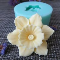 HC0089 Silica gel 3D molds flowers silicone soap mold flower candle aroma mould