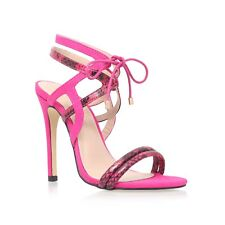 Carvela Kurt Geiger Pink Strappy Sandals Size 7 EU 40 Party Shoes BNIB RRP £110