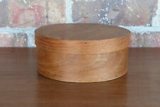 Shaker Style Country Primitive Farmhouse Wooden Pantry Bentwood Cheese Box