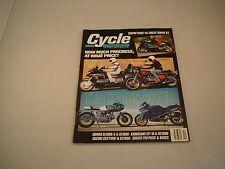 CYCLE MAGAZINE DECEMBER 1988 VOLUME XXXIX NUMBER 12