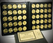 MLB~Sports Stars Collector Coins~50 Coin Set~CERTIFICATE OF AUTHENTICITY~Mint