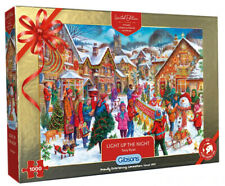Light Up the Night 1000 Piece Gibsons Christmas Jigsaw, Limited Edition G2021