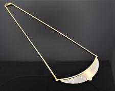 WUNDERSCHÖNES COLLIER GOLD/PLATIN MIT BRILLANTEN 0,10CT WERT 2495,-.€