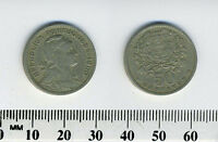 Portugal 1960 - 50 Centavos Copper-Nickel Coin - Liberty head right