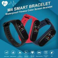 NEW M4 Smart Watch Heart Rate Blood Pressure Monitor Sports Tracker Bracelet