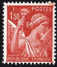 VARIÉTÉ-N°652- (  CHIFFRE 1 COLRE ) type IRIS -  NEUF **