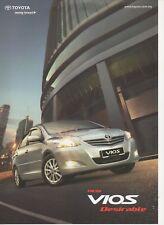 Toyota Vios car (made in Malaysia) _2010 Prospekt / Brochure