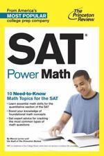 SAT Power Math by Princeton Review (English) Paperback Book