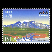 Iceland 2002 - Intl. Year of Mountains - Mount Snaefell - Sc 959 MNH