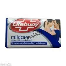 3 X Lifebuoy MildCare Antibacterial Soap 70gm Free Shipping USA BEST PRICE