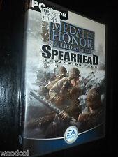 Medal of Honor - Allied Assault - Spearhead add on     pc game