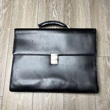 MONTBLANC Limited Edition Black Leather Document Portfolio Case