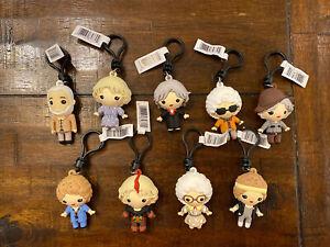 The Golden Girls Figural Bag Clip Series 2 Set Of 9