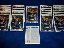 Lot of 22 - 1991-92 Upper Deck #460 Felix Potvin Star Rookie Toronto Maple Leafs
