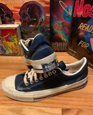 Vintage 70s CONVERSE 'The Winner' Blue Label Canvas Athletic Sneakers Shoes Rare