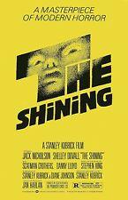 The Shining movie poster (b) : 11 x 17 inches - Jack Nicholson, Stanley Kubrick