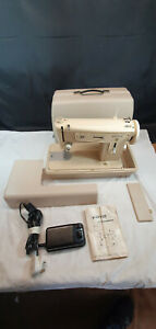 Merritt Sewing Machine Model 187 with Zig Zag Plus Extension Table and Hard Case