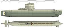 1/72 grauen Wölfe ..Deutsches U-Boot Typ XXIII · MPM · Maßstab 1:72 kit